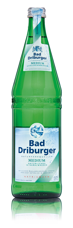 Bad Driburger Mineralwasser Medium